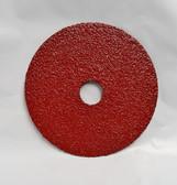 "5"" x 7/8"" Fiber Resin Sanding Disc Aluminum Oxide 36 Grit, Gemtex, 25 Discs"