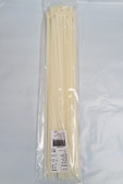 "17"" Nylon Cable Zip Ties 120LB. Natural, 50 Count, co, FREE SHIPPING"