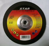 "7"" x 1/4"" x 5/8""-11 Hub Grinding Wheel for Metal Lot of 24"
