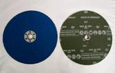 """7"""" x 5/8""""-11 Quick Change Fiber Resin Sanding Disc Zirconia 36 Grit, Pferd, 25 Discs"""