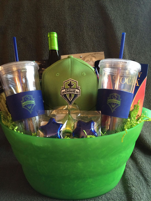 Seattle Sounders Fan Basket