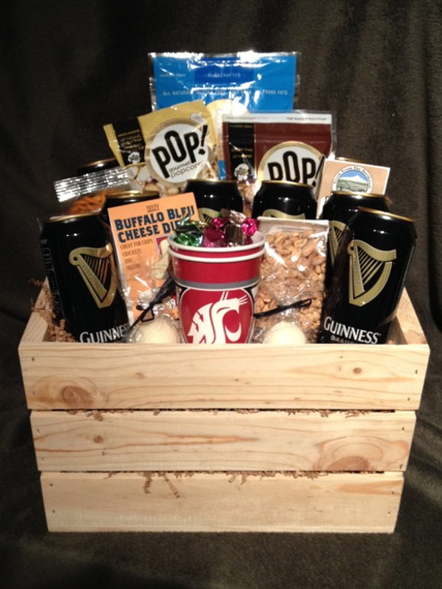 Washington State Cougars Crate