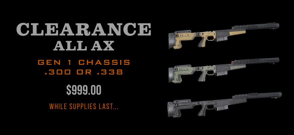 Clearance Gen 1 AX Chassis