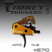 Timney 670: AR-10 Small Pin .154 4Lbs. Pull