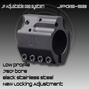 JP JPGS-5B: Adjustable Gas Block (Black)