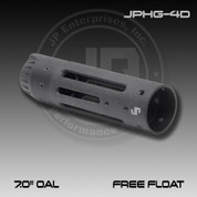 """JP JPHG-4D: JP Free Floating Modular Hand Guard - 7.0"""" OAL - Matte Black"""