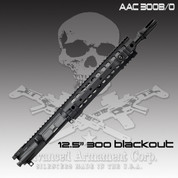 "Advanced Armament AAC 300 B/O 12.5IN: 300 BLACKOUT UPPER, 12.5"" Barrel"