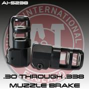 Accuracy International AI-5238: .30 / .338 cal Muzzle Brake
