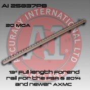 """Accuracy International AI-25837PB: 13"""" 20MOA Forend Rail for the PSR and AXMC Pale Brown"""