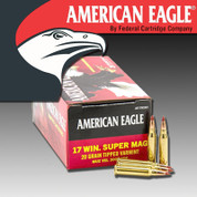 Federal AE17WSM1: American Eagle .17 WSM 20gr Tipped Varmint 50/Box