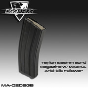 DSG MA-02DSGB: Teflon 5.56mm 30rd Magazine w/Magpul Anti-tilt Follower