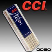 CCI 0030: Speer Mini-Mag .22LR RN 40gr 100/Box