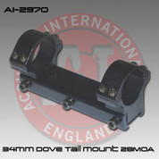 Accuracy International AI-2970: Dovetail Mount 34mm (28moa)*Free Shipping*