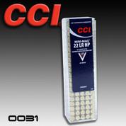 CCI 0031: Speer Mini-Mag .22LR 36gr 100/Box