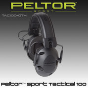 Peltor‰ TAC100-0TH: Sport Tactical 100 Electronic Hearing Protector