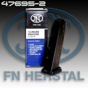 FNH 47695-2: FNX-40 40 S&W Magazine Stainless Black