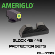 Ameriglo GL-705: Ameriglo Protector Sights for the Glock 42 and 43