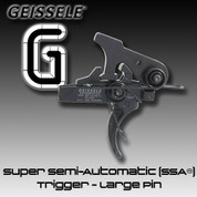 Geissele SSA LG: Super Semi-Automatic (SSA®) Trigger - Large Pin