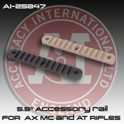 "Accuracy International 25847: 5.5"" Accessory Rail for the Post-2014 AI AXMC and AT Rifles"
