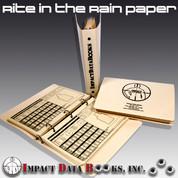 Impact Data RR PAPER: Standard Book - Rite in the Rain Paper