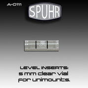 SPUHR A-0111: 5mm Clear Liquid Level