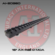 "Accuracy International AI-20360: Full Length Picatinny Forend Rail - 16"" - 0 MOA"