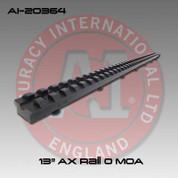 "Accuracy International AI-20364: Full Length Picatinny Forend Rail - 13"" - 0 MOA"