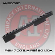 Accuracy International AI-20060: Short Action 20 MOA Action Rail