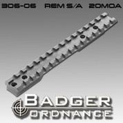 Badger Ordnance 306-06: S/A 20MOA Cant