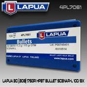 Lapua 4PL7061: 30cal 175gr Scenar L 100/Box