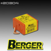 Berger 20304: 20 Cal 40 Grain Match Grade BT Varmint 100/Box