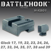 Battlehook H-KB01: Sight Sets For Glock Pistols