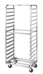 Stainless Steel Single Side Load Pan Racks