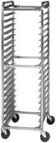 Aluminum Single End Load Knock-Down Pan Rack