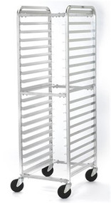 ARS 125 Aluminum Single Side Load KD Pan Rack