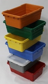 Cross-Stack Plastic Lugs in Colors