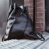 JIN LEATHER DRAWSTRING BACKPACK
