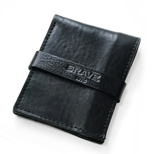 LEATHER NOTE SLEEVE