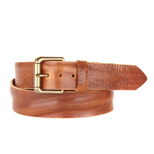 VENTURI DENIM LEATHER BELT