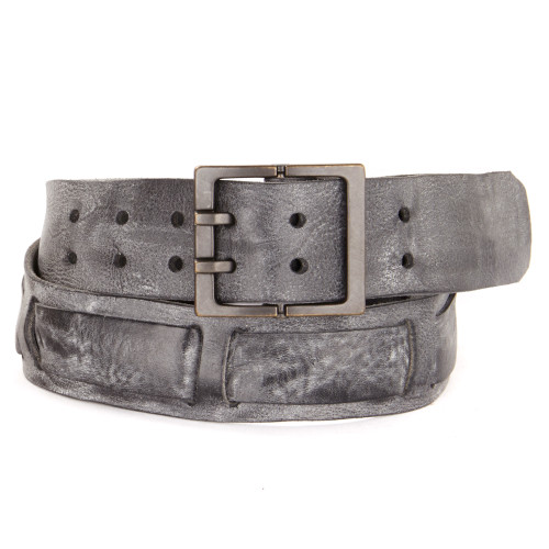 Weston Leather Belt in Thundercloud