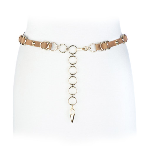 Lavra chain belt in biscuit