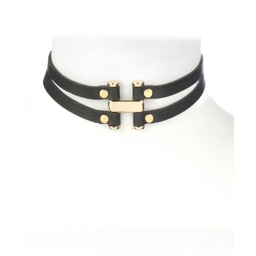 Ese Choker in gold