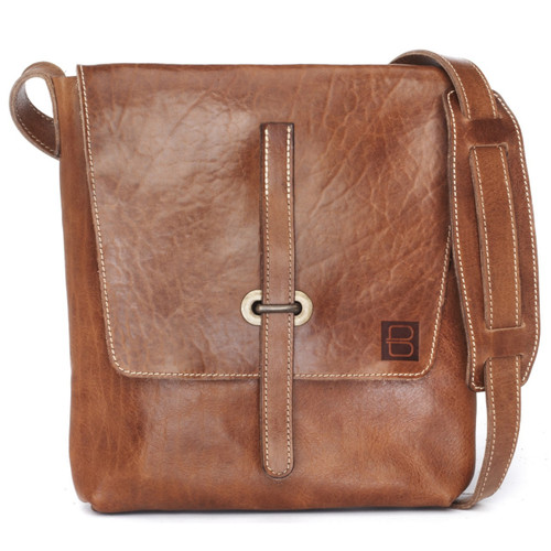 FAUST SALVAGE LEATHER CROSSBODY