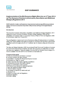 GGF Guidance on the Implementation of the EU Consumer Rights Directive on 13th June 2014 (ref: 50.4a)