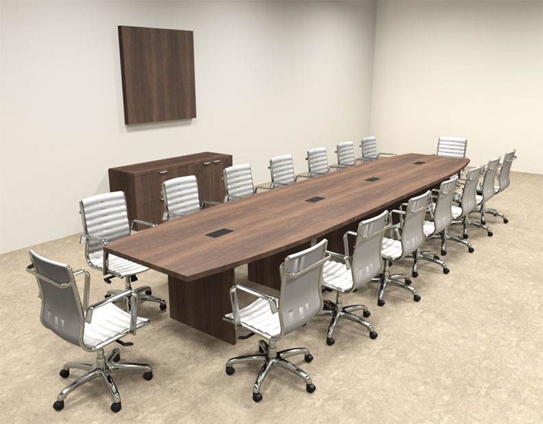 Modern Boat Shapedd 18 39 Feet Conference Table Of Con C79