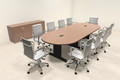 Modern Racetrack 10' Feet Conference Table, #MT-CSD-C87