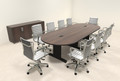 Modern Racetrack 10' Feet Conference Table, #MT-CSD-C89