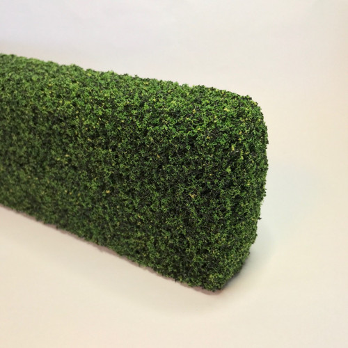 """Partial view (end) of 3"""" dollhouse hedge"""