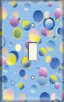 Bubbles - Light Switch Plate Cover