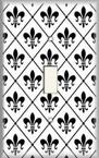 Fleur De Lis 3 - Light Switch Plate Cover